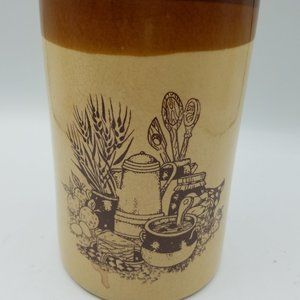 Vintage Kitchen Utensil Canister